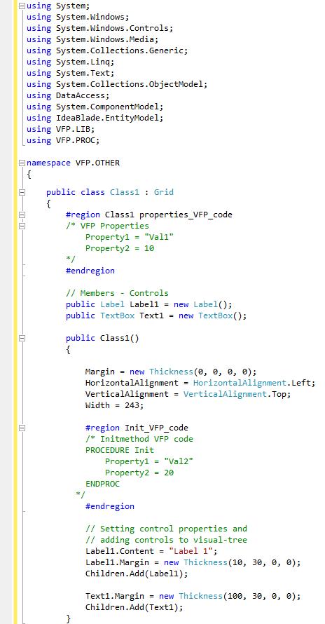 FoxPro to  Net migration details - Dataodyssey com